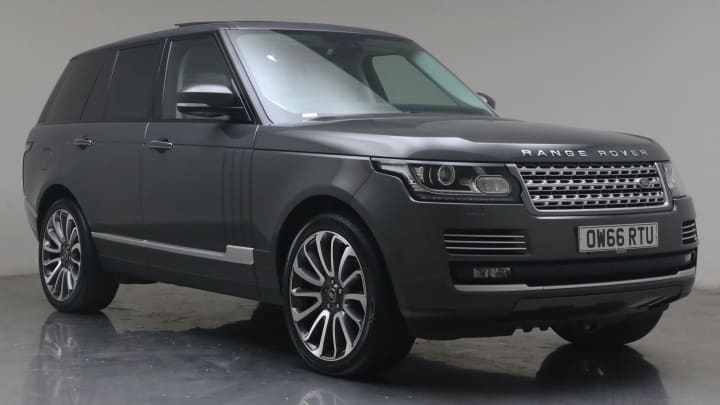 2016 used Land Rover Range Rover 4.4L Autobiography SD V8