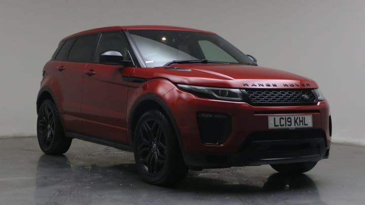 2019 used Land Rover Range Rover Evoque 2L HSE Dynamic TD4