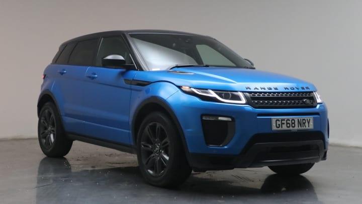 2018 used Land Rover Range Rover Evoque 2L Landmark TD4