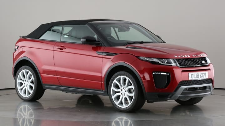 2018 used Land Rover Range Rover Evoque 2L HSE Dynamic Lux TD4