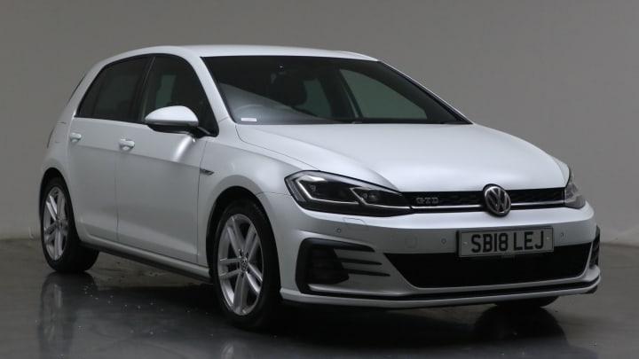 2018 used Volkswagen Golf 2L GTD BlueLine TDI