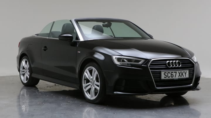 2017 Used Audi A3 Cabriolet 1.6L S line TDI