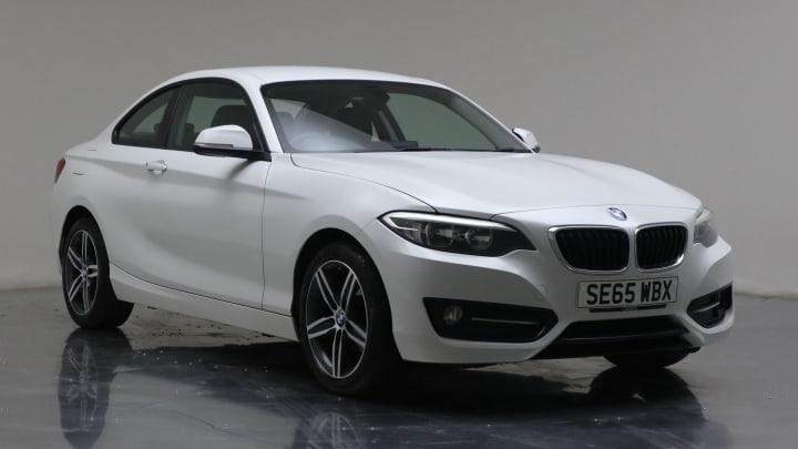 2016 Used BMW 2 Series 2L Sport 218d