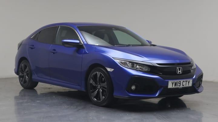 2019 used Honda Civic 1L SR VTEC Turbo