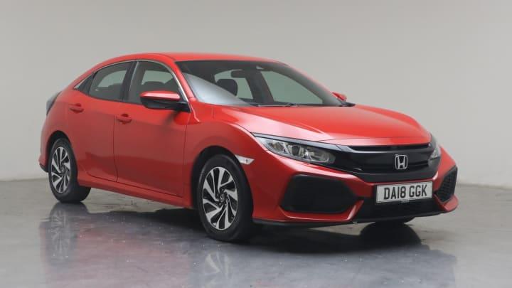 2018 used Honda Civic 1.6L SE i-DTEC