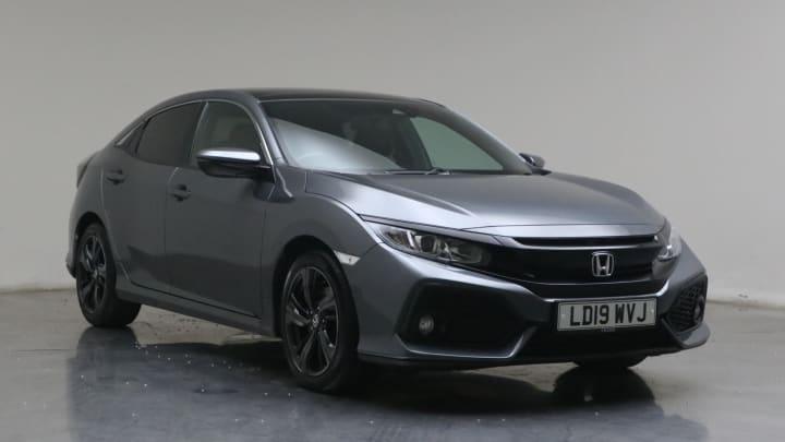 2019 used Honda Civic 1.6L EX i-DTEC