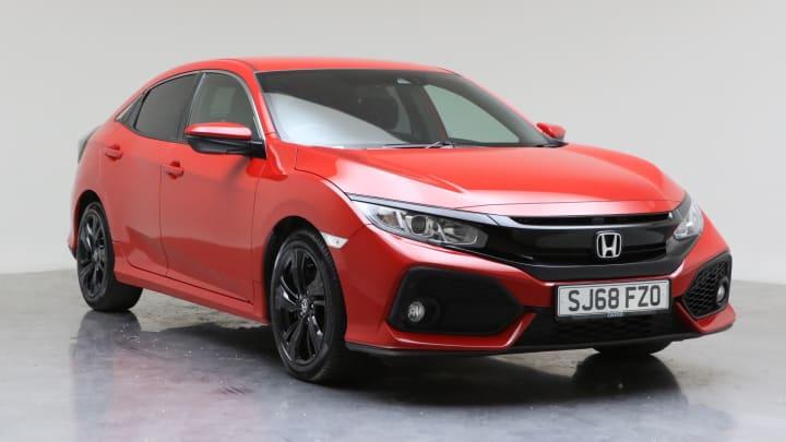 2018 Used Honda Civic 1.6L SR i-DTEC