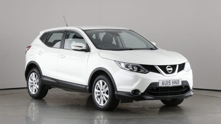 2015 used Nissan Qashqai 1.5L Acenta dCi