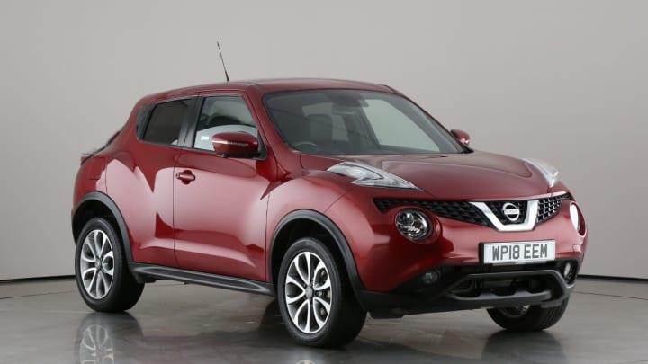 2018 used Nissan Juke 1.6L Tekna
