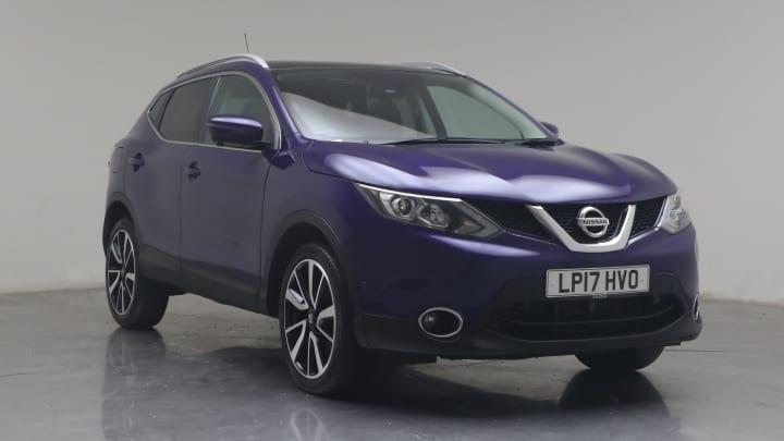 2017 used Nissan Qashqai 1.2L Tekna DIG-T