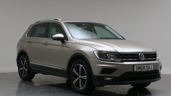 2018 Used Volkswagen Tiguan 2L SE Navigation TDI