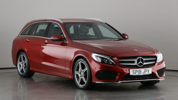 2018 Used Mercedes-Benz C Class 2.2L AMG Line C300dh