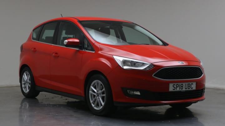 2018 used Ford C-Max 1L Zetec EcoBoost T