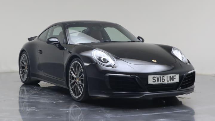 2016 used Porsche 911 3L 991 Carrera 4S T
