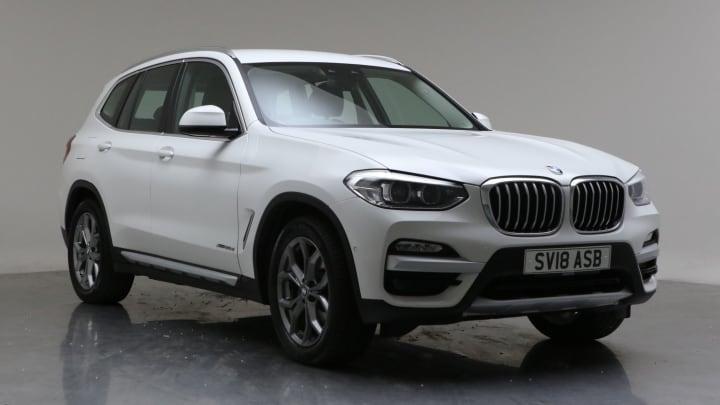 2018 Used BMW X3 2L xLine 20d