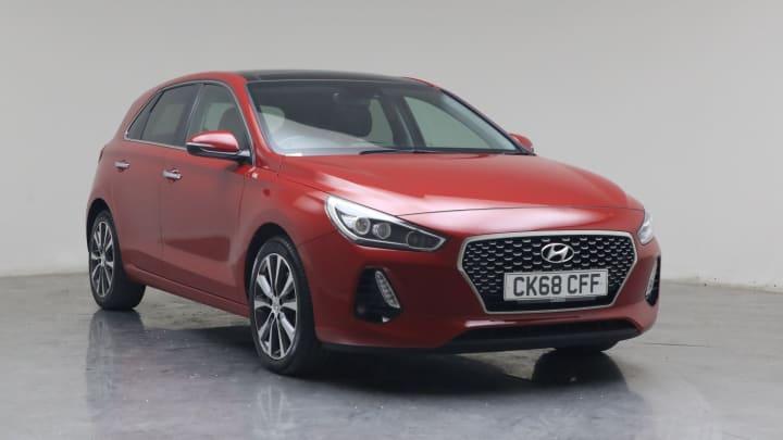 2018 used Hyundai i30 1.4L Premium SE Blue Drive T-GDi
