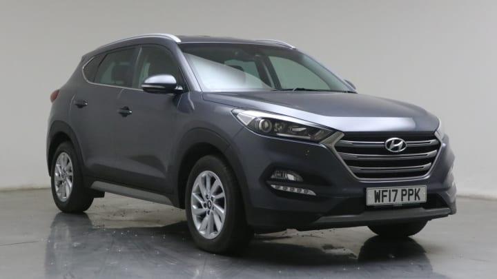 2017 used Hyundai TUCSON 1.7L Premium Blue Drive CRDi