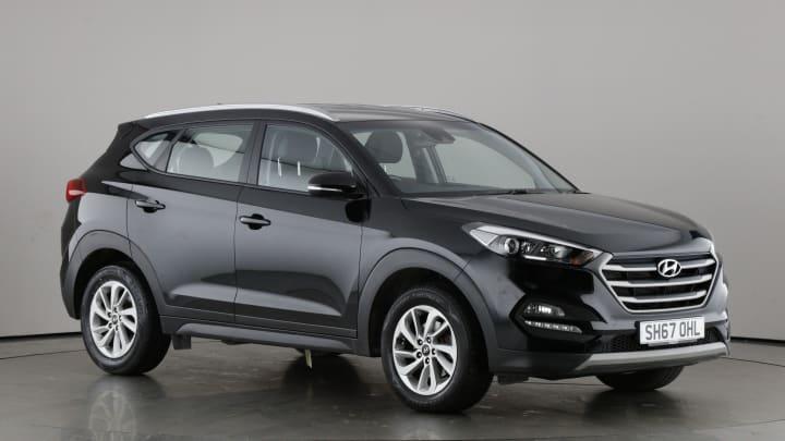 2018 used Hyundai TUCSON 1.7L SE Nav Blue Drive CRDi