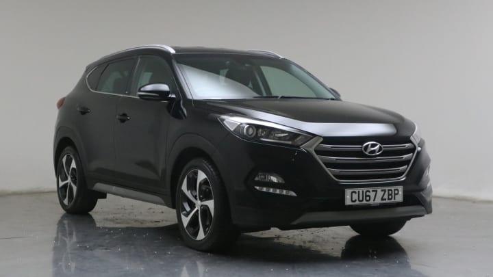 2017 used Hyundai TUCSON 1.7L Sport Edition Blue Drive CRDi