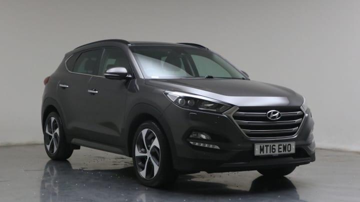 2016 used Hyundai TUCSON 2L Premium SE CRDi
