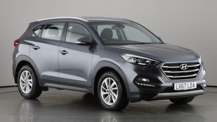 2017 used Hyundai TUCSON 2L SE Nav CRDi