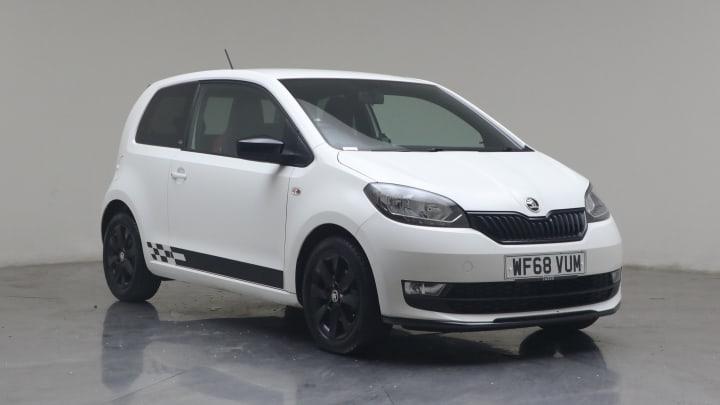2018 used Skoda Citigo 1L Monte Carlo GreenTech MPI