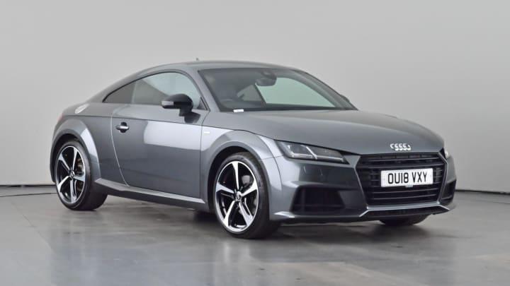2018 used Audi TT 2L Black Edition TFSI