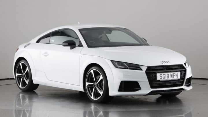 2018 used Audi TT 1.8L Black Edition TFSI