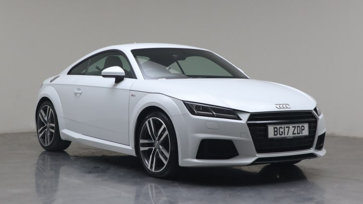 2017 used Audi TT 1.8L S line TFSI