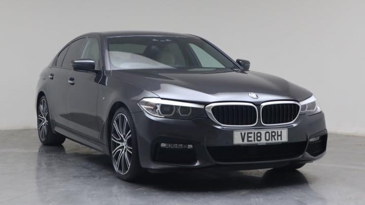 2018 used BMW 5 Series 2L M Sport 530i