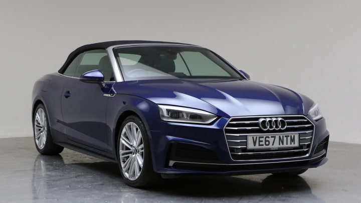 2018 Used Audi A5 Cabriolet 2L S line TFSI