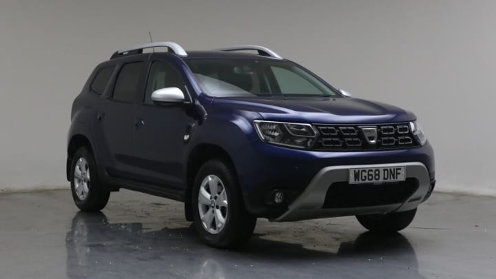 2018 used Dacia Duster 1.5L Comfort Blue dCi