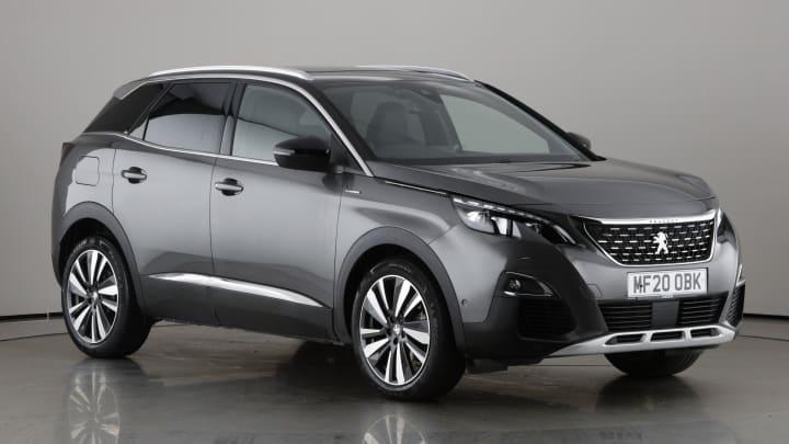 2020 used Peugeot 3008 1.6L GT Line Premium PureTech