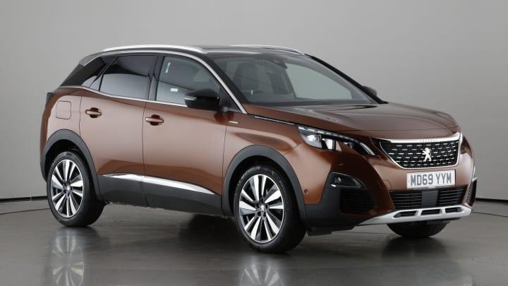 2020 used Peugeot 3008 1.2L GT Line Premium PureTech