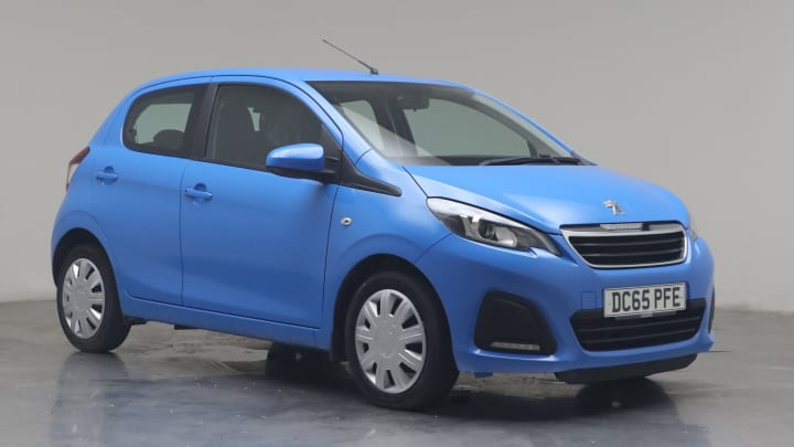 2015 used Peugeot 108 1L Active