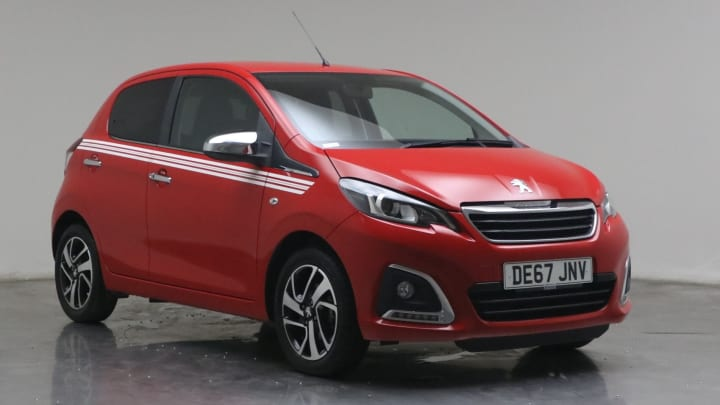 2017 used Peugeot 108 1L Collection