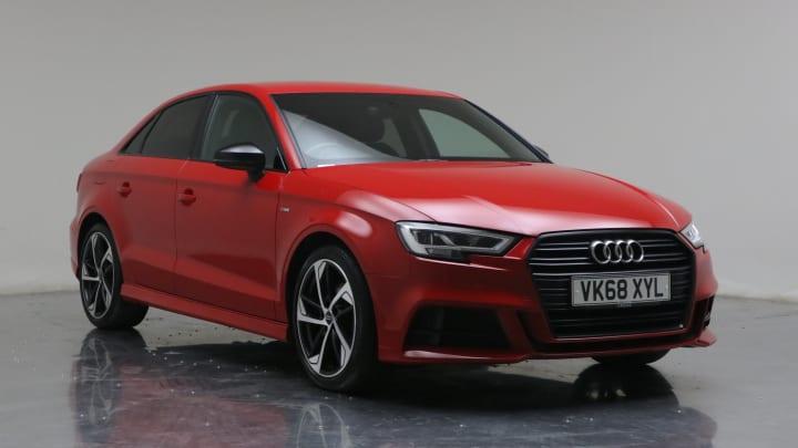2018 Used Audi A3 1.5L Black Edition CoD TFSI