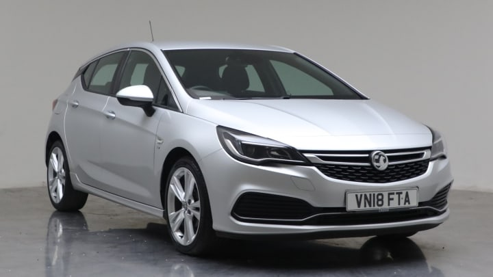 2018 Used Vauxhall Astra 1.4L SRi VX Line i Turbo