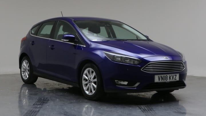 2018 Used Ford Focus 1L Titanium EcoBoost T