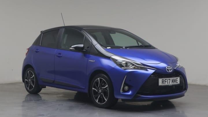 2017 used Toyota Yaris 1.5L VVT-h