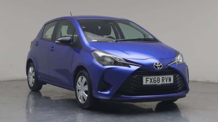 2018 used Toyota Yaris 1L Active VVT-i