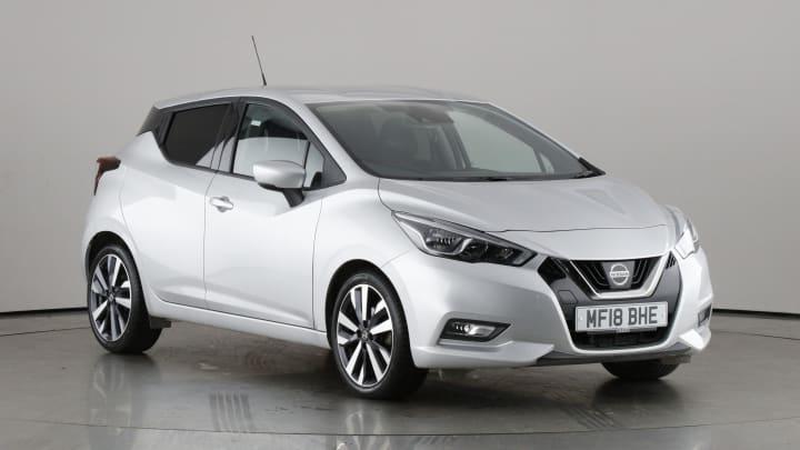2018 used Nissan Micra 0.9L Tekna IG-T