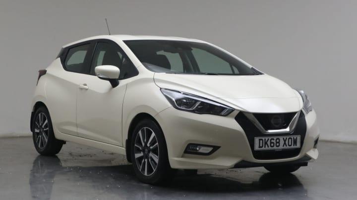 2018 used Nissan Micra 1L Acenta IG