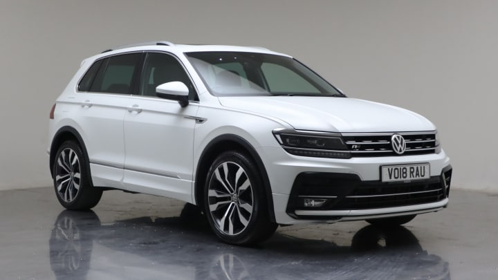 2018 Used Volkswagen Tiguan 2L R-Line TDI
