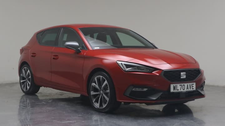2021 used Seat Leon 1.5L FR First Edition MHEV eTSI