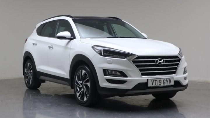 2019 Used Hyundai TUCSON 1.6L Premium SE CRDi