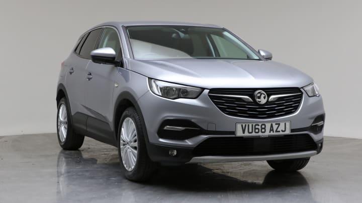 2018 Used Vauxhall Grandland X 1.6L Tech Line Nav BlueInjection Turbo D