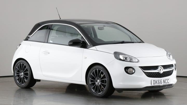 2016 used Vauxhall ADAM 1.4L GLAM i