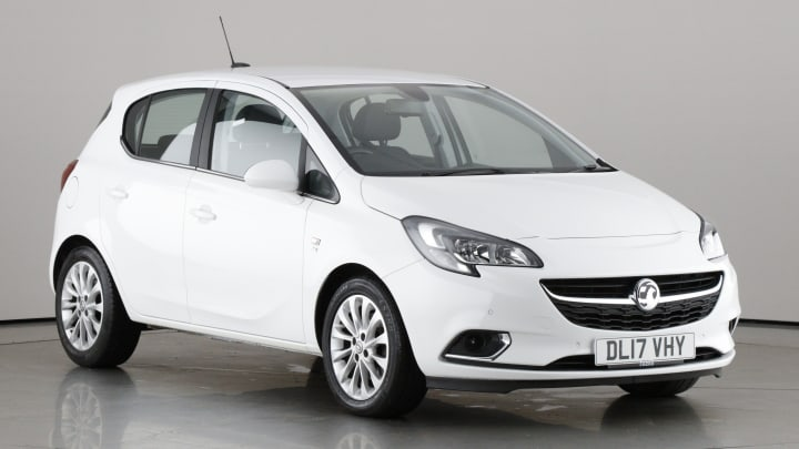 2017 used Vauxhall Corsa 1.4L SE ecoFLEX i Turbo