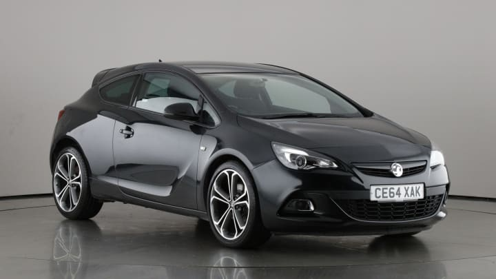 2014 used Vauxhall Astra GTC 1.4L Limited Edition T